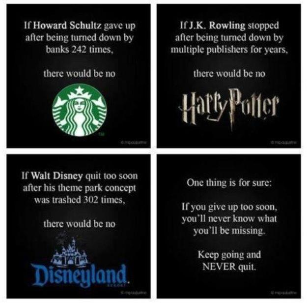 keep going and reach yourdream