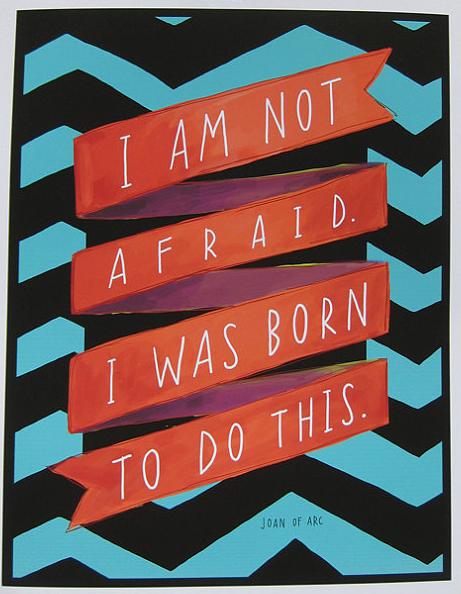 don't be afraid ofNO!